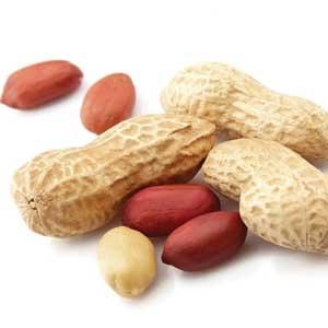 Osaltade jordnötter är mycket bättre snacks än chips